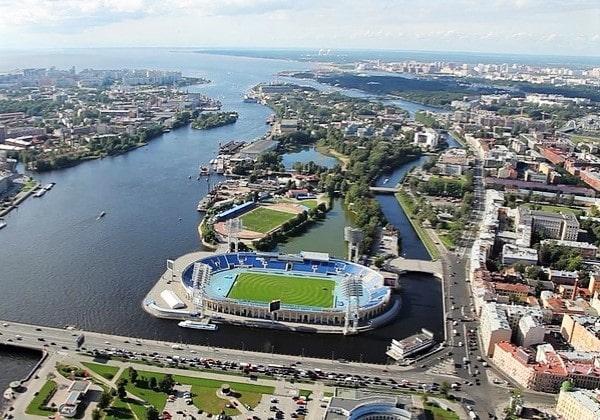 Петровский остров, спортивный комплекс Петровский
