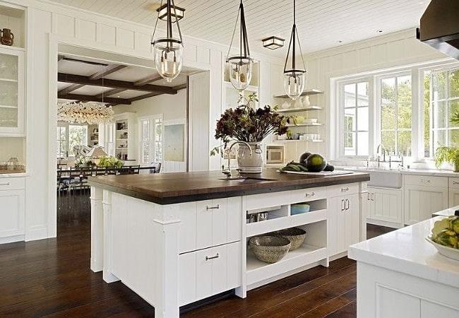 Традиционная кухня в американском доме