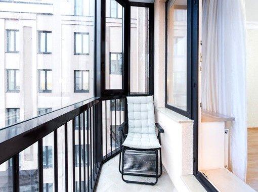 Ремонт балкона под ключ СПб