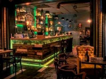 Ремонт бара в стиле стимпанк Санкт-Петербург