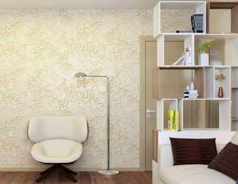 Декоративная штукатурка в спальне Санкт-Петербург