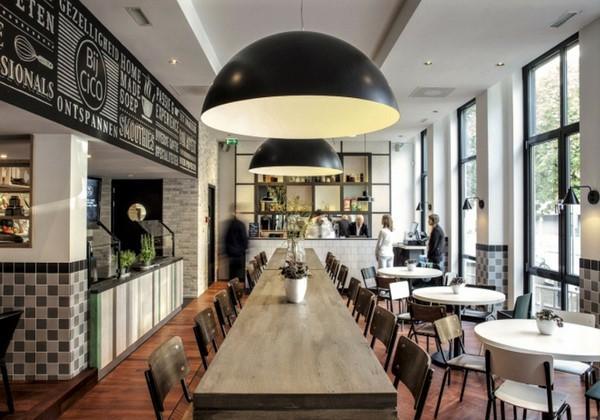 Дизайнерский ремонт кафе СПб