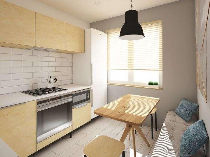 дизайн кухни 7м