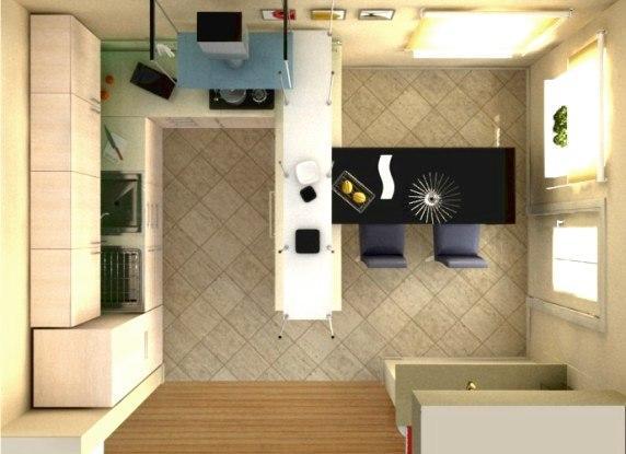 Дизайн проект ремонта кухни