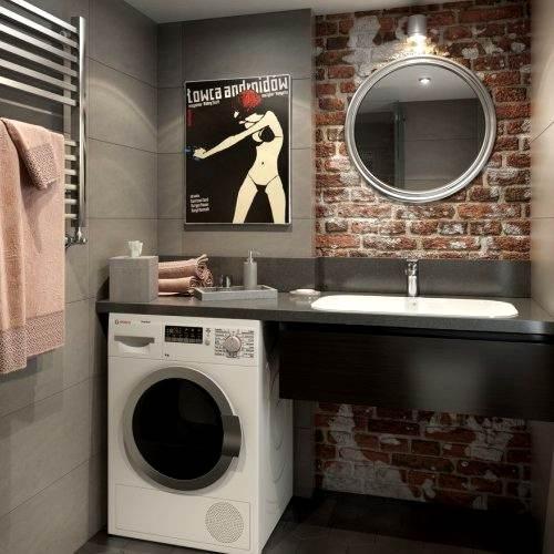 Дизайнерский ремонт ванной старый фонд