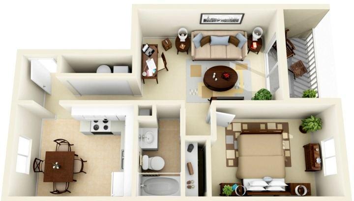 Капитальный ремонт двухкомнатной квартиры СПб