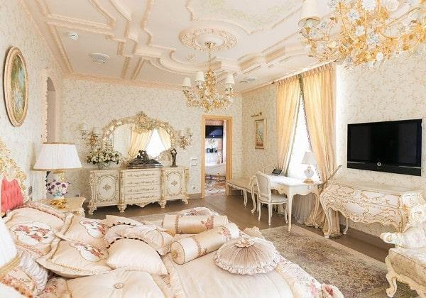 Спальня для девушки в стиле Барокко