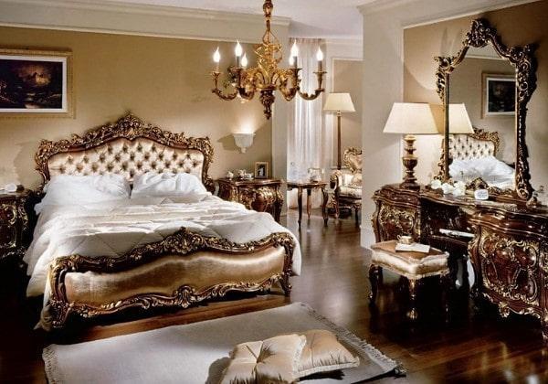 Ремонт в спальне в стиле Барокко