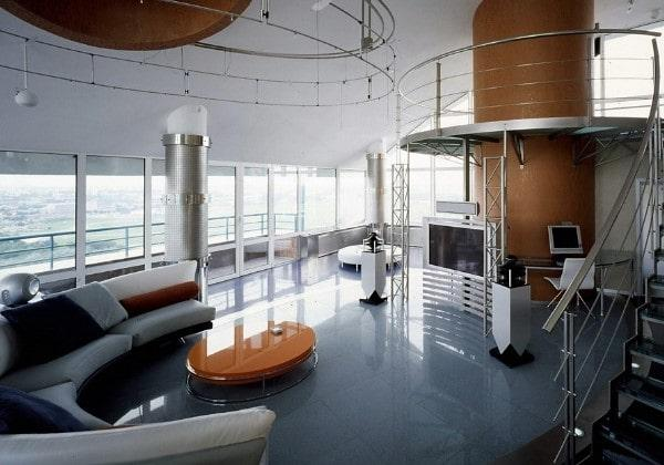 Ремонт Хай-тек в больших помещениях