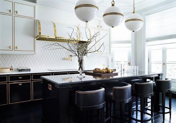 Элитный ремонт кухни в стиле современной классики