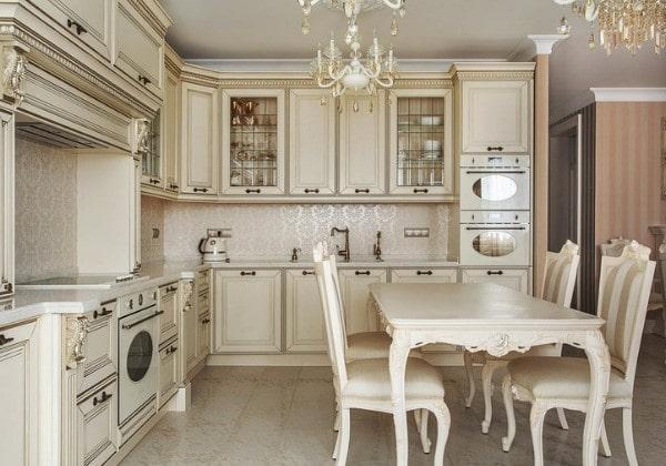 Класический ремонт кухни