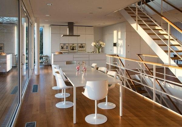 Ремонт загородного дома в стиле современного минимализма