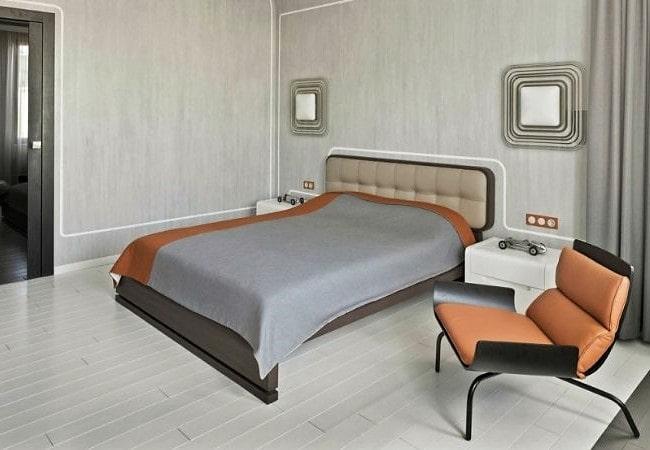 Спальня в стиле Футуризм