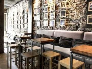 Ремонт кафе в стиле лофт Санкт-Петербург
