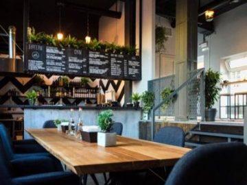 Ремонт кафе в стиле минимализм Санкт-Петербург