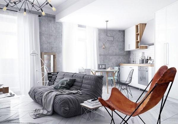 Капитальный ремонт с объединением комнаты и кухни