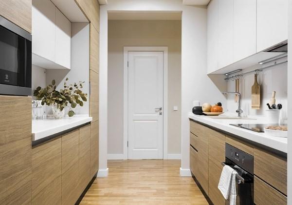 Капитальный ремонт с необычной перепланировкой кухни