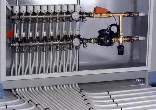 Коллекторная система отопления СПб