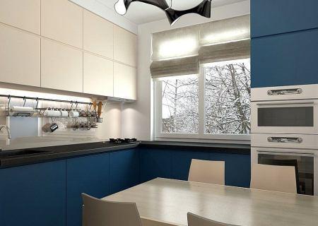 Ремонт кухни в панельном доме СПб