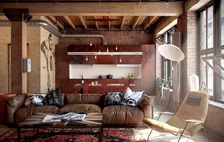 Ремонт квартиры в стиле Лофт в Санкт-Петербурге
