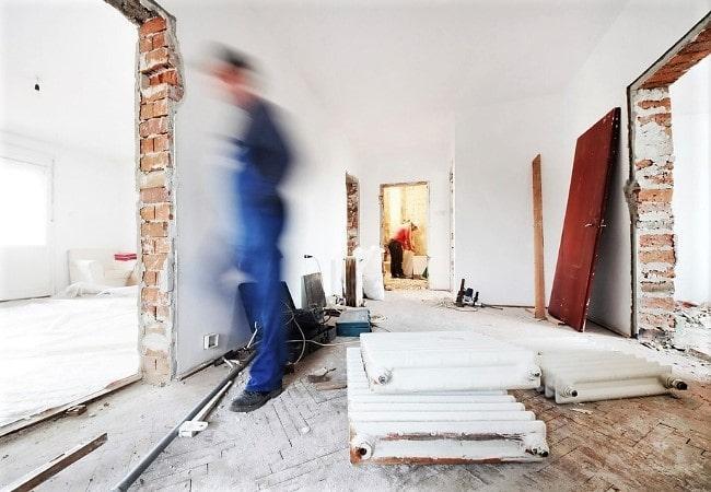 Черновые работы при ремонте квартиры под ключ