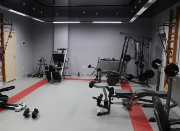 Ремонт тренажёрного зала в СПБ