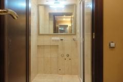 Дизайнерский ремонт совмещённой ванной, настенный кафель