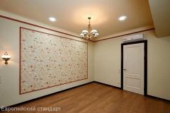 Ремонт гостиной комнаты по дизайн проекту