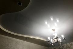 Дизайнерский ремонт потолка, гипрок