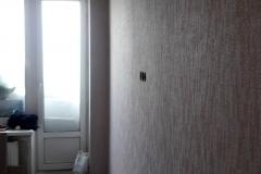 Ремонт комнаты эконом класса, оклейка обоями