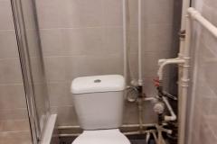 Ремонт ванной, совмещённой с туалетом, эконом