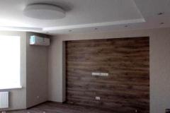 Ремонт гостиной комнаты, комфрт класс