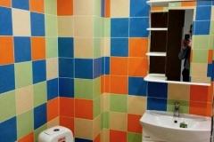 Ремонт ванной совмещённой с санузлом комфорт