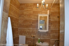 Ремонт ванной комфорт класса, настенная плитка