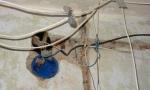 Примеры некачественного оформления электрики