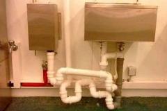 Примеры некачественного оформления сантехники труб
