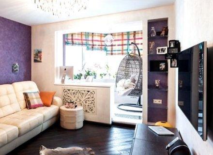 Совместить балкон и комнату СПб