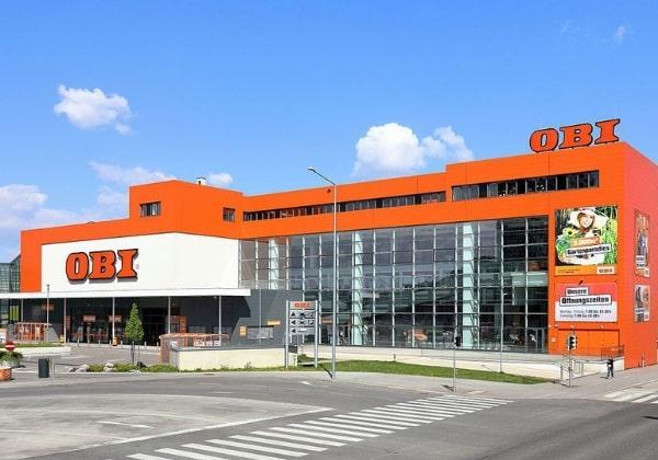 Строительный магазин ОБИ