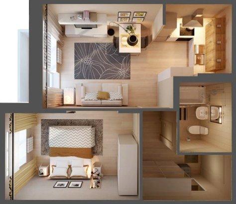 Сколько стоит ремонт однокомнатной квартиры в СПб