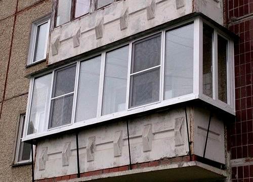 Отделка балкона Санкт-Петербург