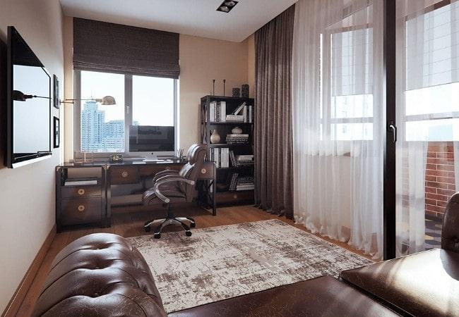 Ремонт комнаты с рабочим местом в Парголово