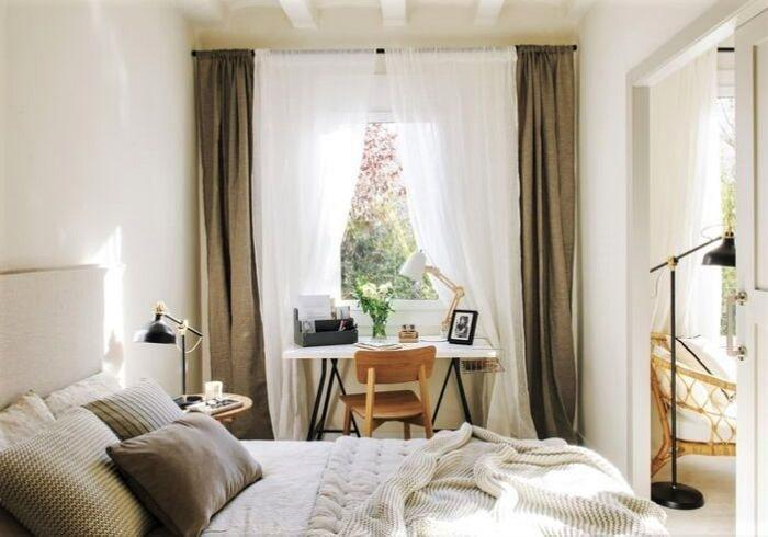 Первый этаж - это уютная зелень за окном