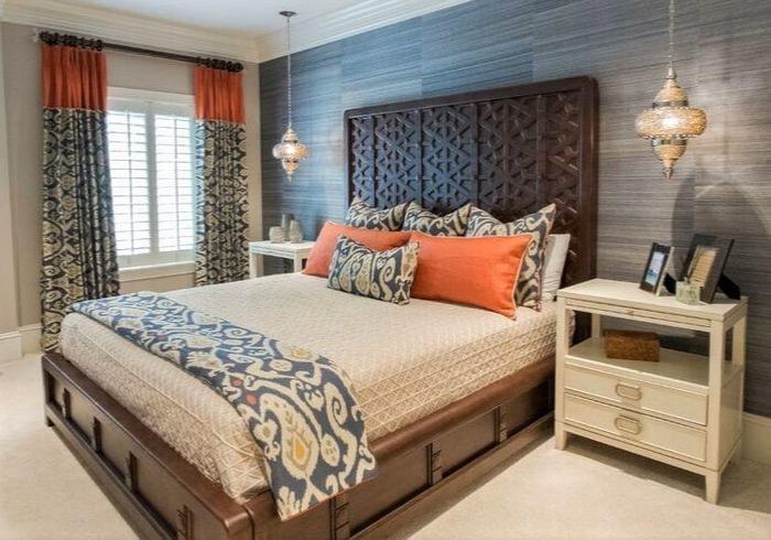 Ремонт спальни в квартире на первом этаже