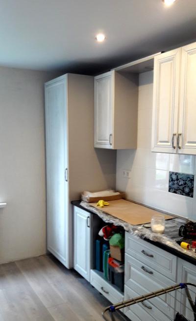 Ремонт кухни под ключ, класс комфорт