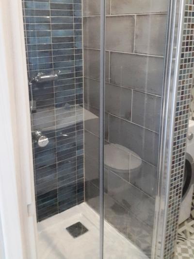 Ремонт ванной под ключ, настенная мозаика