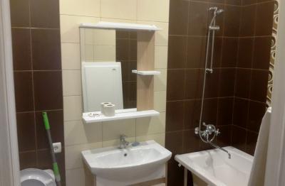Ремонт ванной под ключ, установка раковины