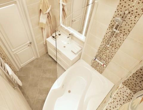 Плитка в ванной Кудрово