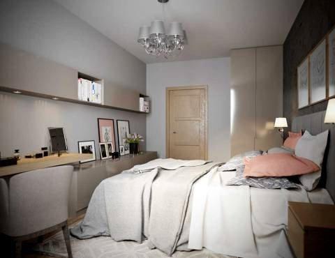 Покрасить потолок в спальне СПб
