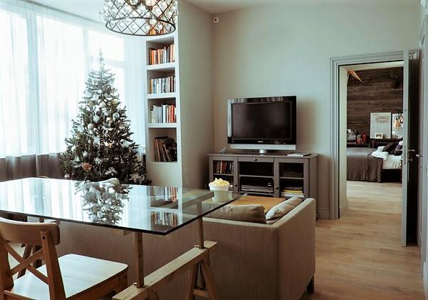 Дизайнерский ремонт двухкомнатной квартиры СПб