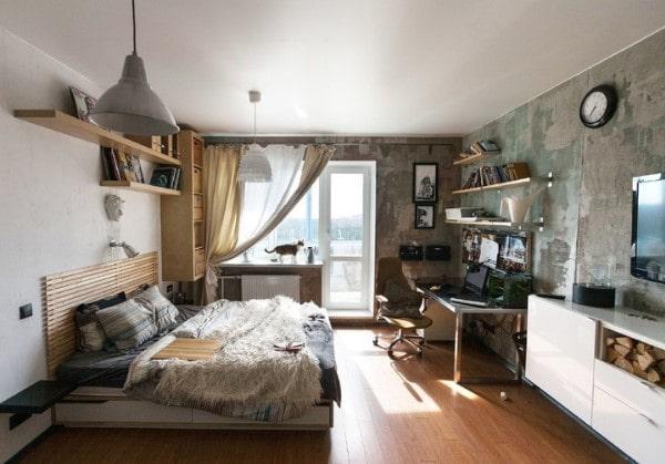 1-комнатная квартира с элементами Лофта